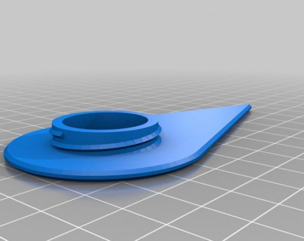 咖啡袋盖子模型 3D模型  图6