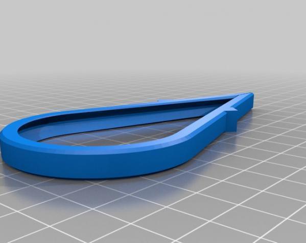 咖啡袋盖子模型 3D模型  图7