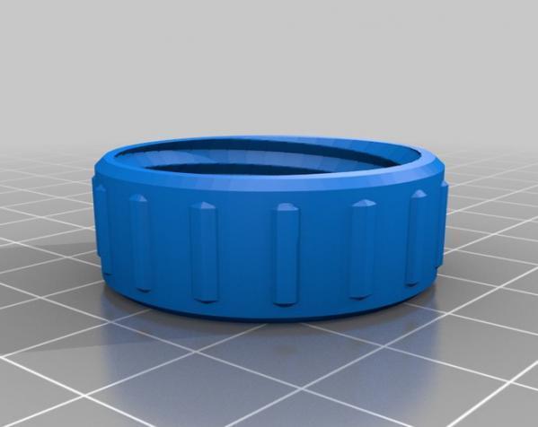 咖啡袋盖子模型 3D模型  图10