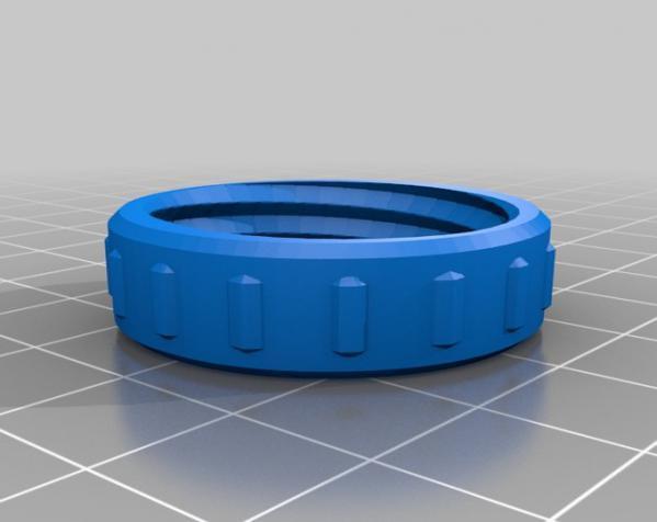 咖啡袋盖子模型 3D模型  图9