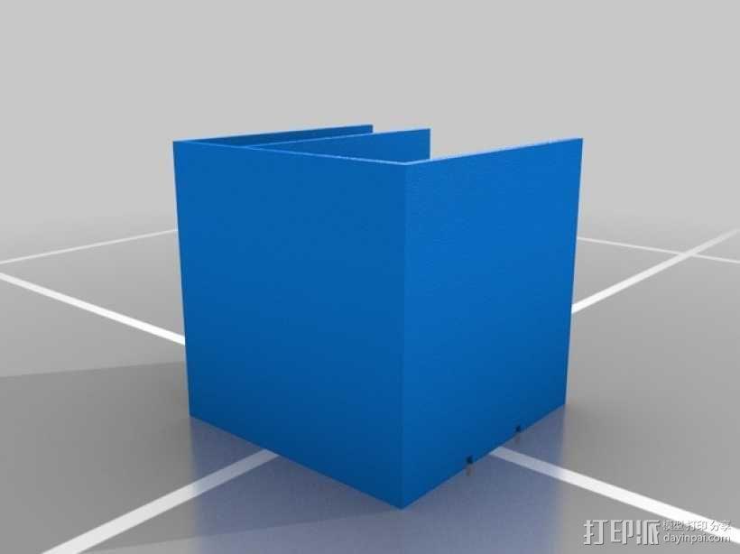 模块化书桌文具盒模型 3D模型  图2