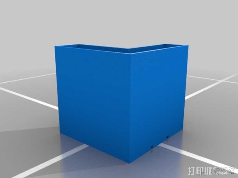 模块化书桌文具盒模型 3D模型  图6
