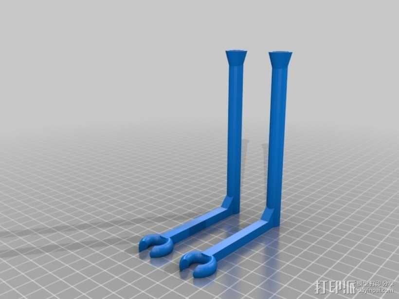 洗碗机红酒杯架模型 3D模型  图3