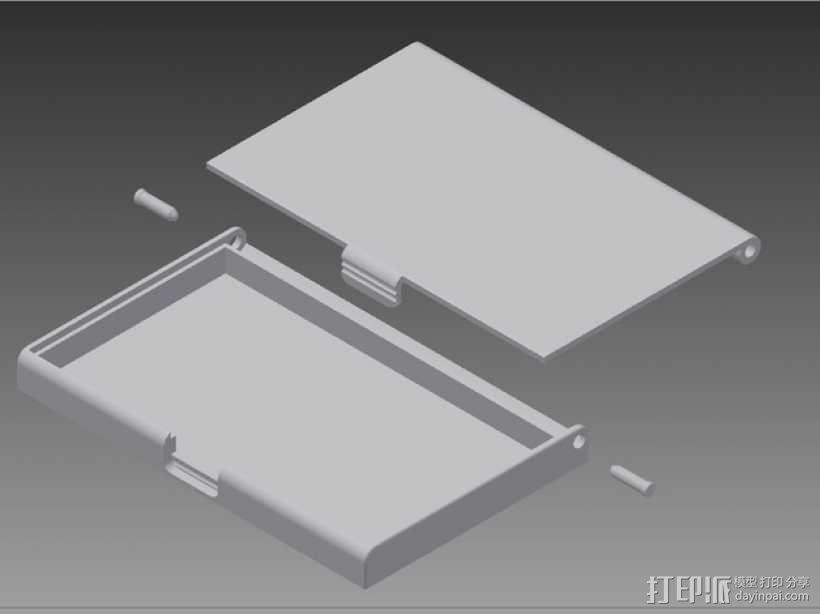 名片卡盒/信用卡盒模型 3D模型  图4
