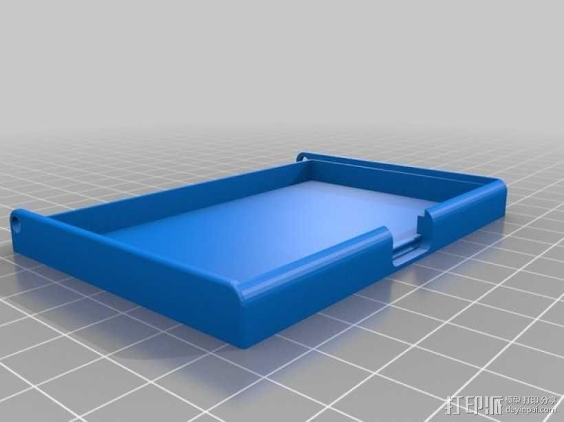名片卡盒/信用卡盒模型 3D模型  图5