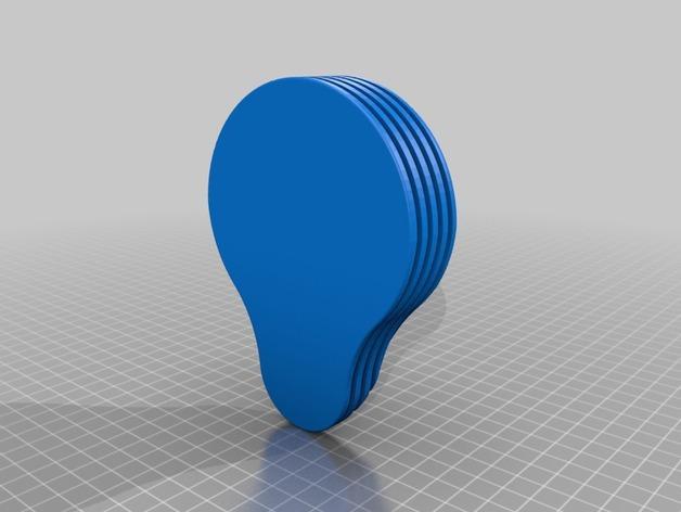 木勺托盘模型 3D模型  图4