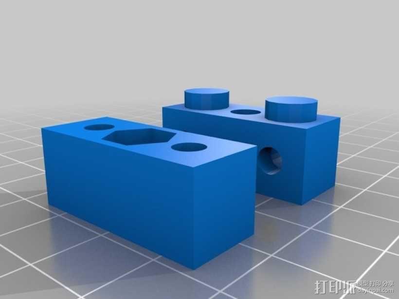 家具组装接头模型 3D模型  图2