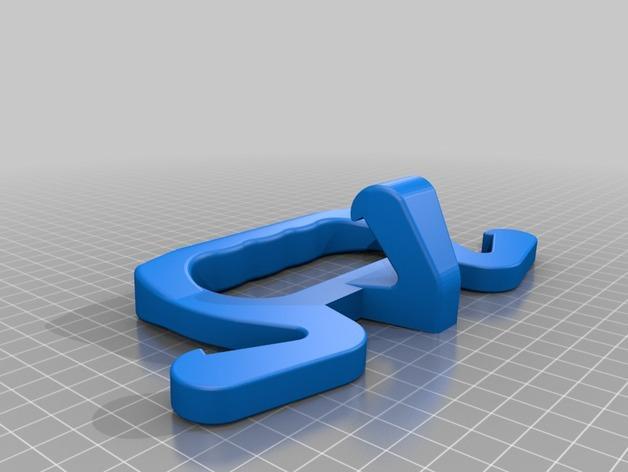 夹袋器模型REC 4 3D模型  图3