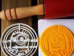 小黄人饼干切割刀模型 3D模型
