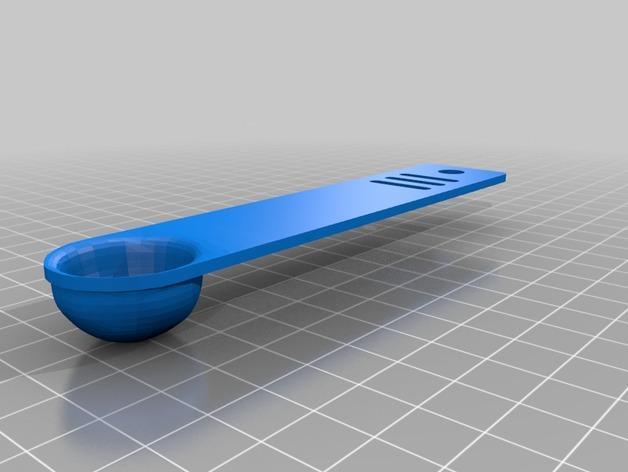 调味料小匙模型 3D模型  图3
