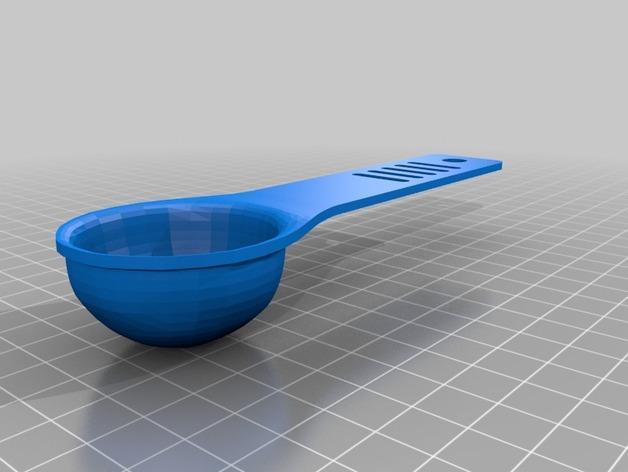 调味料小匙模型 3D模型  图6