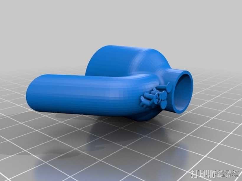 迷你水龙头喷水器模型 3D模型  图5
