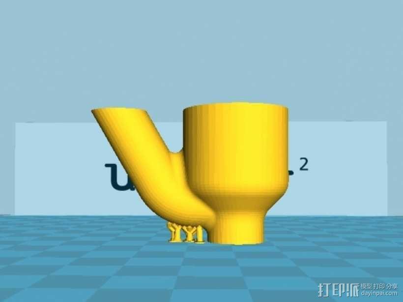 迷你水龙头喷水器模型 3D模型  图4