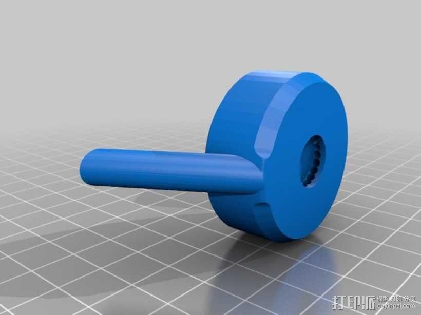 迷你水龙头喷水器模型 3D模型  图7
