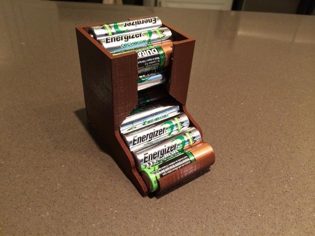 桌面电池盒模型 3D模型  图3