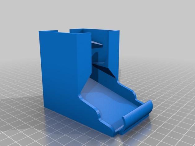 桌面电池盒模型 3D模型  图5