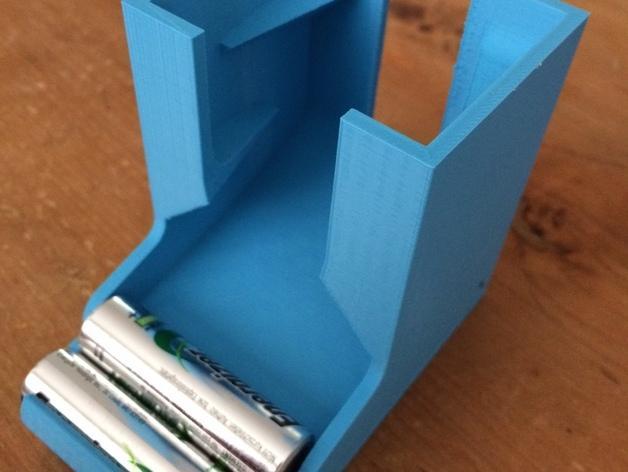 桌面电池盒模型 3D模型  图4
