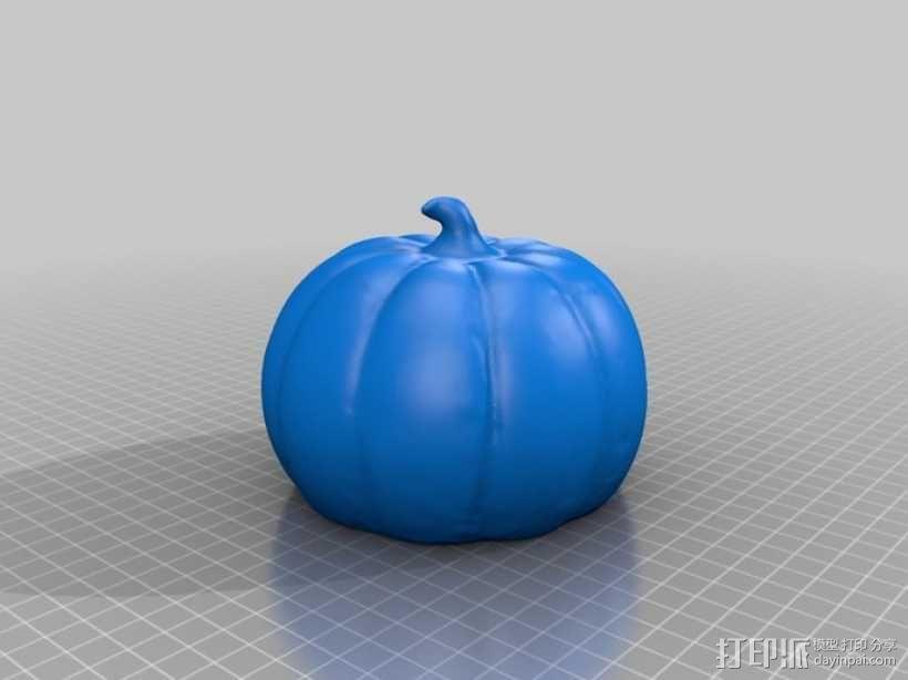 万圣节南瓜灯模型 3D模型  图2