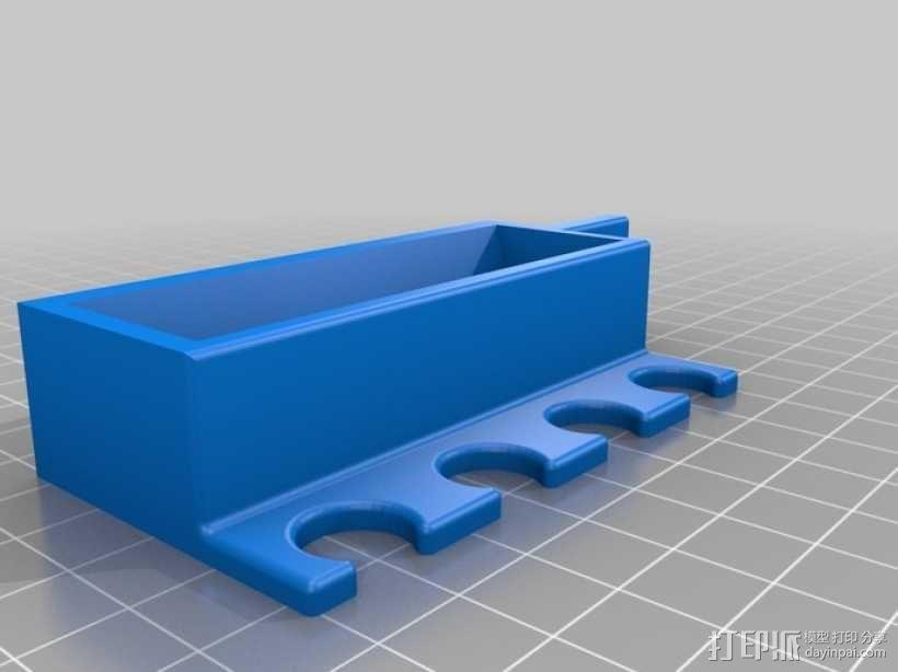 多功能笔架模型 3D模型  图1