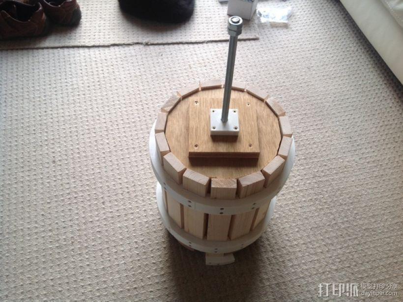 葡萄榨汁装置模型 3D模型  图1