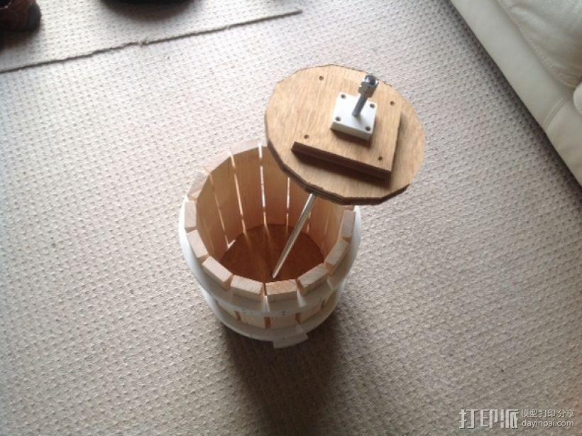 葡萄榨汁装置模型 3D模型  图4