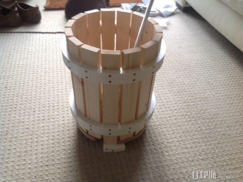 葡萄榨汁装置模型 3D模型  图3