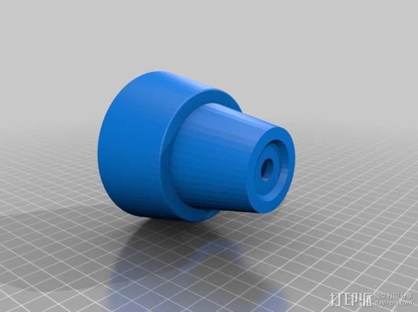 迷你花盆模型 3D模型  图3