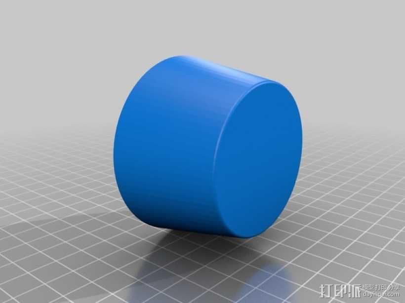 迷你花盆模型 3D模型  图5