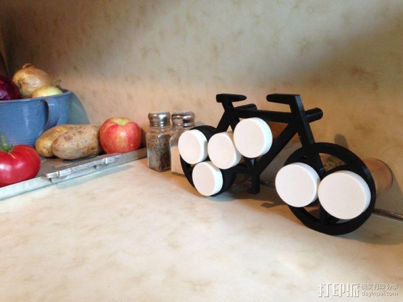 自行车形香料架模型 3D模型  图1