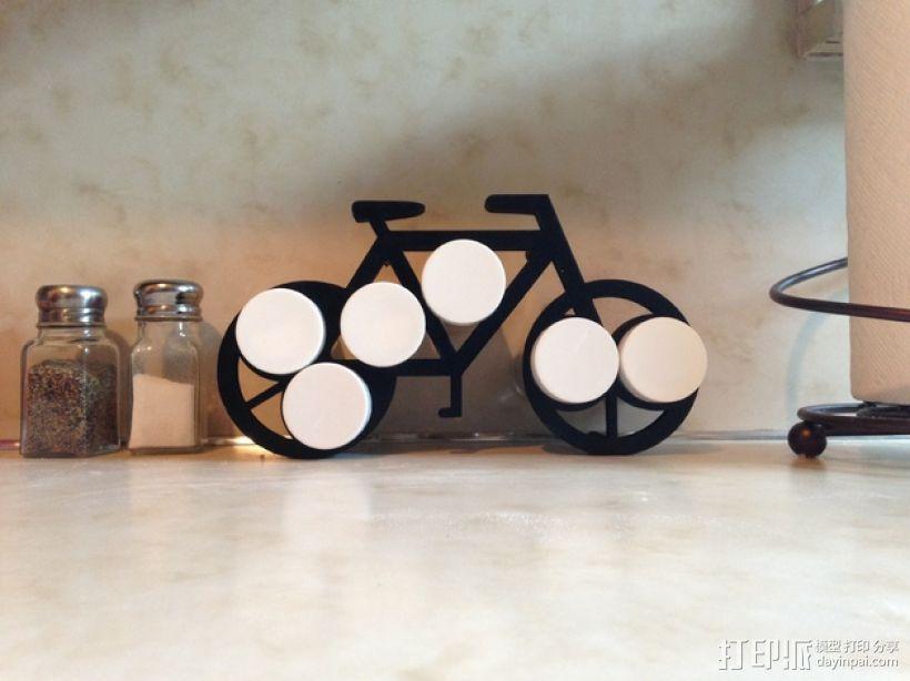 自行车形香料架模型 3D模型  图5