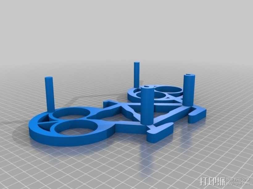 自行车形香料架模型 3D模型  图7
