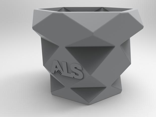 冰桶挑战的水桶模型 3D模型  图3
