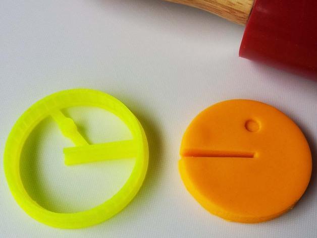 吃豆人饼模型切割刀 3D模型  图2