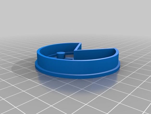 吃豆人饼模型切割刀 3D模型  图4