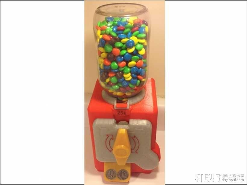 糖果贩卖机模型 3D模型  图1