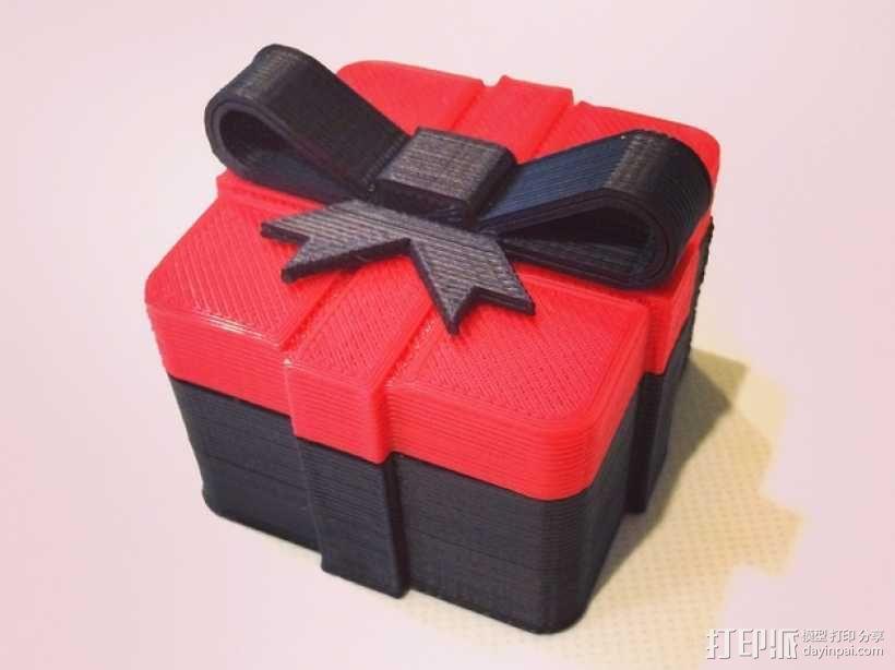 迷你礼物盒模型 3D模型  图1