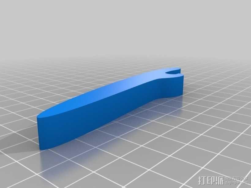 简易开瓶器模型 3D模型  图2