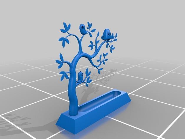 珠宝首饰树模型 3D模型  图2