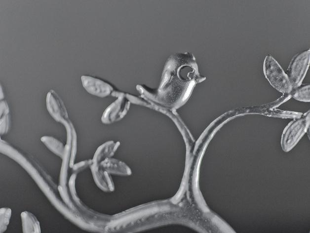 珠宝首饰树模型 3D模型  图3