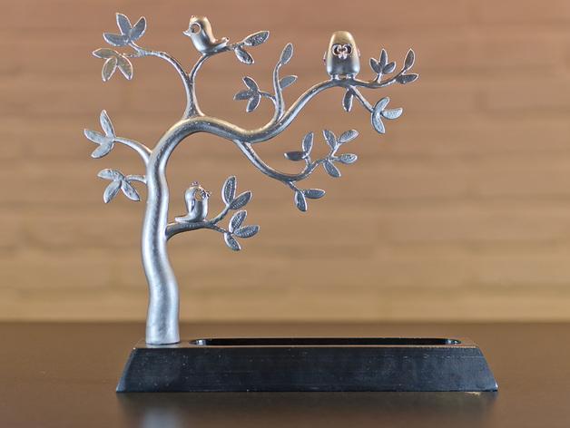 珠宝首饰树模型 3D模型  图6