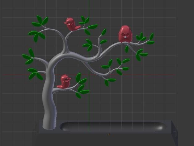珠宝首饰树模型 3D模型  图9