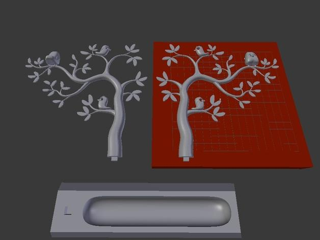 珠宝首饰树模型 3D模型  图10