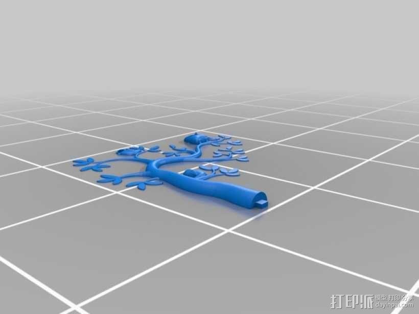 珠宝首饰树模型 3D模型  图15