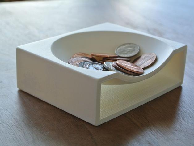硬币托盘模型 3D模型  图4