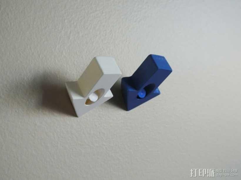 箭头形图钉模型 3D模型  图4