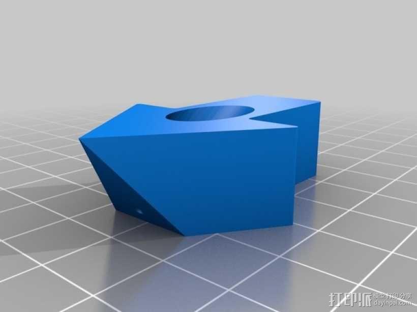 箭头形图钉模型 3D模型  图6