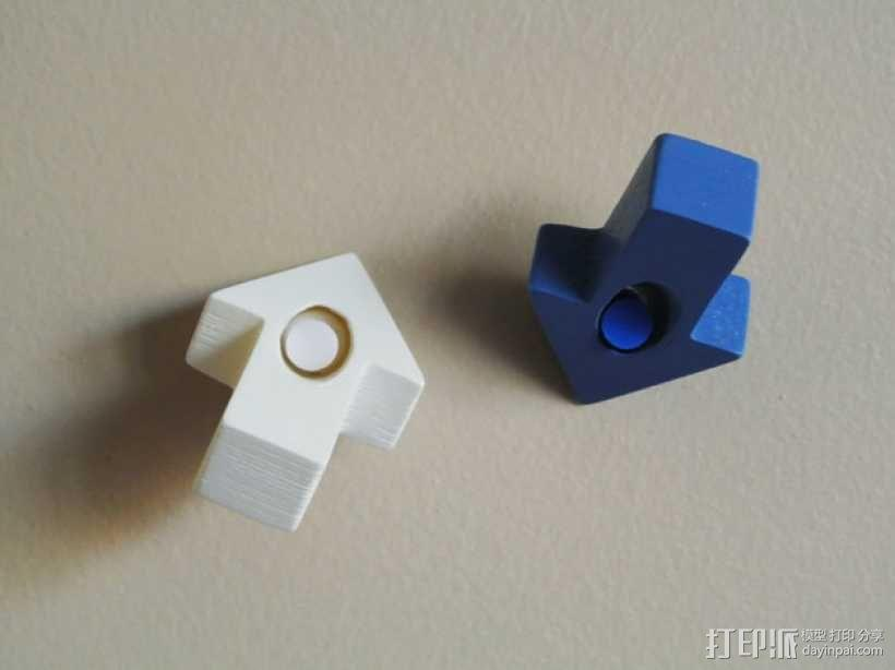 箭头形图钉模型 3D模型  图5