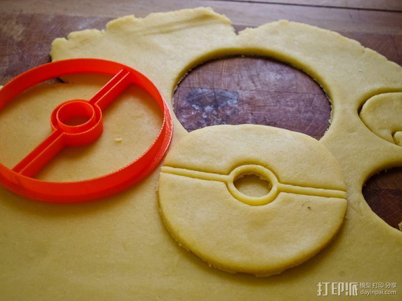 饼干模型切割刀 3D模型  图4
