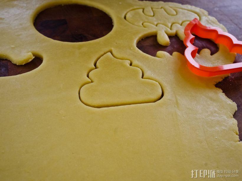 饼干模型切割刀 3D模型  图5