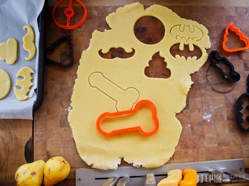 饼干模型切割刀 3D模型  图6
